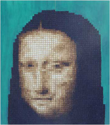 Mona Lisa - 2.4m x 2.4m