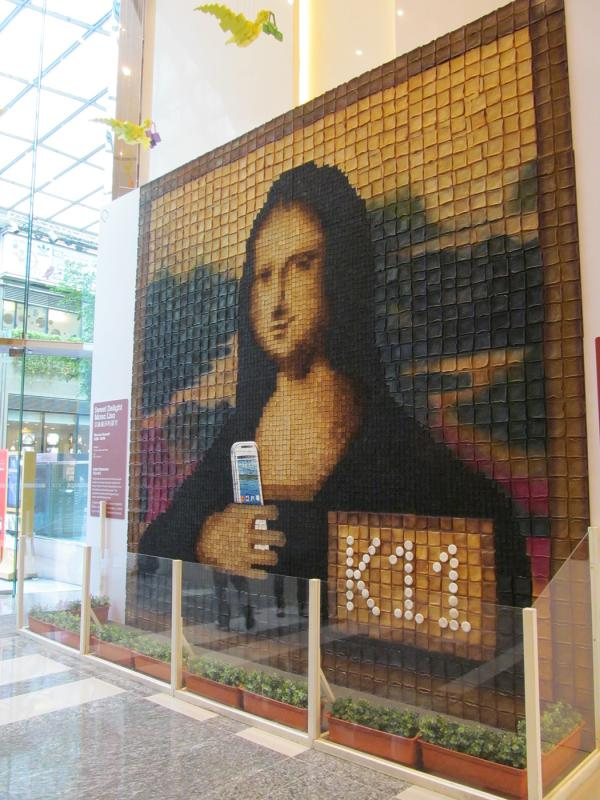 Mona Lisa with Smartphone - K11 Mall